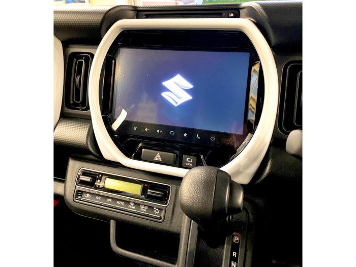新型ハスラー HYBRID G 全方位モニター付きナビゲーション&スズキセーフティサポート_8